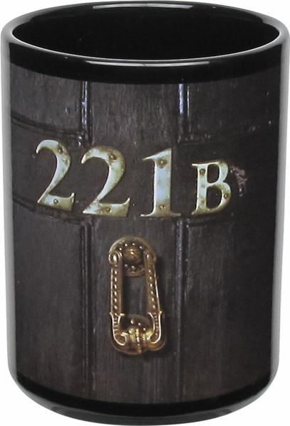Sherlock 221B Door Glow in the Dark Mug & Sherlock 221B Door Glow in the Dark Mug - Fanteesia